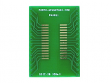 SOIC-28 to DIP-28 SMT Adapter (1.27 mm pitch, 300 mil body)