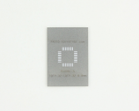 TQFP-32 (0.8 mm pitch, 7 x 7 mm body) Stainless Steel Stencil