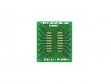 SOIC-16 to DIP-16 SMT Adapter (1.27 mm pitch, 150/200 mil body)