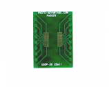 QSOP-20 to DIP-20 SMT Adapter (0.635 mm / 25 mil pitch)