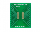TSSOP-24 to DIP-24 SMT Adapter (0.65 mm pitch)