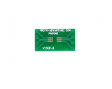 VSSOP-8 to DIP-8 SMT Adapter (0.5 mm pitch)