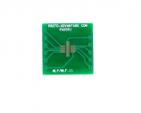 MLP/MLF-11 to DIP-12 SMT Adapter (0.5 mm pitch, 3 x 3 mm body)