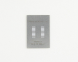 SOIC-18 (1.27 mm pitch) Stainless Steel Stencil