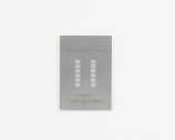 SSOP-38 (0.65 mm pitch) Stainless Steel Stencil