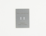 TSSOP-14 (0.65 mm pitch) Stainless Steel Stencil