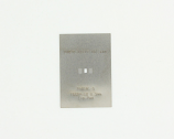 TSSOP-10-Exp-Pad (0.5 mm pitch) Stainless Steel Stencil