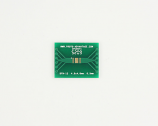 DFN-12 to DIP-16 SMT Adapter (0.5 mm pitch, 4.0 x 4.0 mm body)