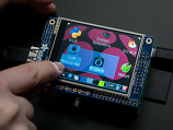 "PiTFT Mini Kit - 320x240 2.8"" TFT+Touchscreen for Raspberry Pi"