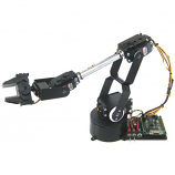 Lynxmotion AL5D 4 Degrees of Freedom Robotic Arm Combo Kit (No Software)