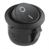 Rocker Switch - SPST (round)