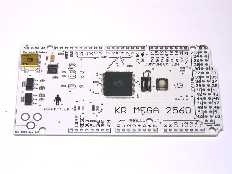 Arduino Mega Compatible Board With FTDI