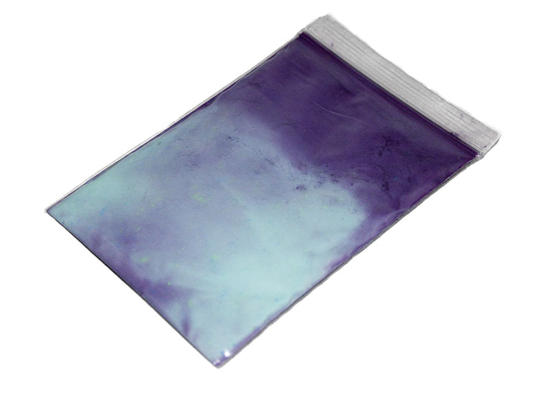 Thermochromatic Pigment 22C/72F - Purple to Teal Transition (20g)