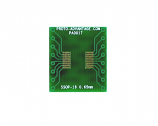 SSOP-16 to DIP-16 SMT Adapter (0.65 mm pitch)