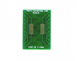 SSOP-20 to DIP-20 SMT Adapter (0.65 mm pitch)