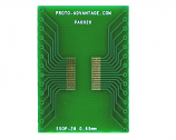 SSOP-28 to DIP-28 SMT Adapter (0.65 mm pitch)