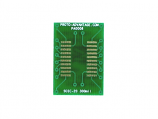 SOIC-20 to DIP-20 SMT Adapter (1.27 mm pitch, 300 mil body)