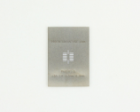 LGA-14 (0.8 mm pitch, 3 x 5 mm body) Stainless Steel Stencil