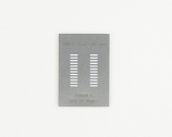 SOIC-24 (1.27 mm pitch, 300 mil body) Stainless Steel Stencil