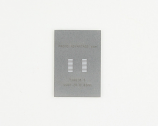 SSOP-20 (0.65 mm pitch) Stainless Steel Stencil