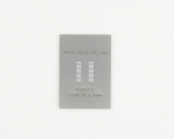 TSSOP-28 (0.65 mm pitch) Stainless Steel Stencil