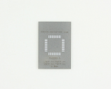 TQFP-44 (0.8 mm pitch, 10 x 10 mm body) Stainless Steel Stencil