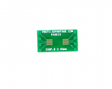 SSOP-8 to DIP-8 SMT Adapter (0.65 mm pitch)