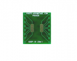 QSOP-16 to DIP-16 SMT Adapter (0.635 mm / 25 mil pitch)