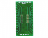 QSOP-28 to DIP-28 SMT Adapter (0.635 mm / 25 mil pitch)