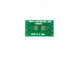 VSOP-8 to DIP-8 SMT Adapter (0.65 mm pitch, 2.8 mm body)