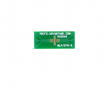 MLP/DFN-6 to DIP-6 SMT Adapter (0.5 mm pitch, 2 x 2 mm body)