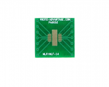 MLP/MLF-14 to DIP-14 SMT Adapter (0.5 mm pitch, 5 x 4 mm body)