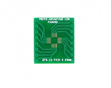 QFN-16-THIN to DIP-16 SMT Adapter (0.65 mm pitch, 4 x 4 mm body)