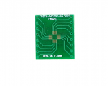 QFN-16 to DIP-16 SMT Adapter (0.5 mm pitch, 3 x 3 mm body)