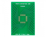 QFN-28 to DIP-28 SMT Adapter (0.8 mm pitch, 7 x 7 mm body)