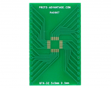 QFN-32 to DIP-32 SMT Adapter (0.5 mm pitch, 5 x 5 mm body)
