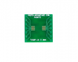 TVSOP-14 to DIP-14 SMT Adapter (0.4 mm pitch)