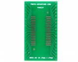 SOIC-36 to DIP-36 SMT Adapter (1.27 mm pitch, 10.16 mm body)