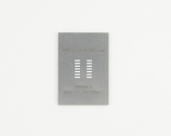 SOIC-14 (1.27 mm pitch, 150/200 mil body) Steel Stencil