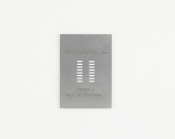 SOIC-16 (1.27 mm pitch, 150/200 mil body) Steel Stencil