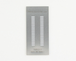 SOIC-48 (1.27 mm pitch) Stainless Steel Stencil