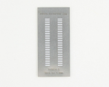 SOIC-54 (1.27 mm pitch) Stainless Steel Stencil
