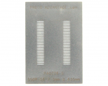 SSOP-56 (0.635 mm pitch, 7.5 mm body) Stainless Steel Stencil
