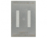 SSOP-48 (0.635 mm pitch, 7.5 mm body) Stainless Steel Stencil