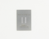 TSSOP-38 (0.5 mm pitch) Stainless Steel Stencil
