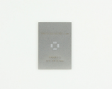 QFN-20 (0.5 mm pitch, 4 x 4 mm body) Stainless Steel Stencil