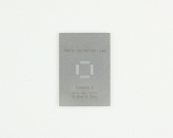 QFN-36-THIN (0.5 mm pitch, 6 x 6 mm body) Steel Stencil