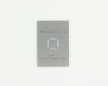 QFN-40 (0.5 mm pitch, 6 x 6 mm body) Stainless Steel Stencil