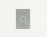 QFN-48 (0.5 mm pitch, 7 x 7 mm body) Stainless Steel Stencil