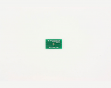 QFN-8 to DIP-12 SMT Adapter (0.65 mm pitch, 3 x 3 mm body, 1.1 x 1.1 mm pad)